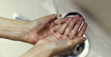 handen wassen menukaart restaurant