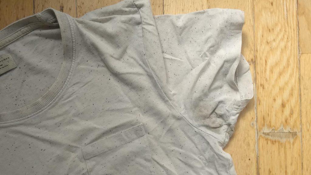 deodorant vlekken verwijderen